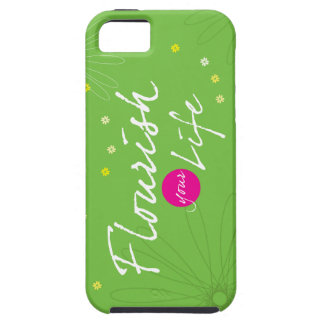 Flourish Your Life Tough iPhone 5 Case
