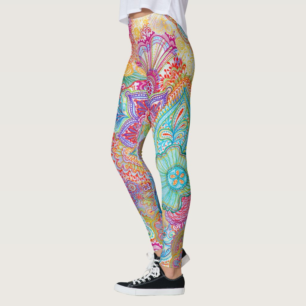 Flourishing Allover Leggings