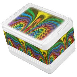 Flourishing Rainbow Igloo Cool Box
