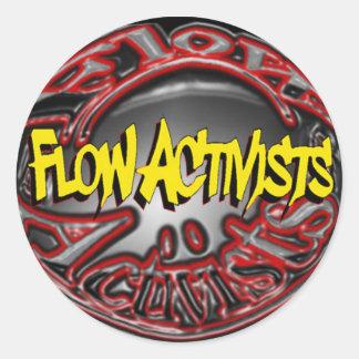 Flow Activists Sticker