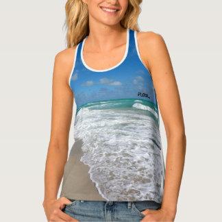 flow beach yoga top tank top