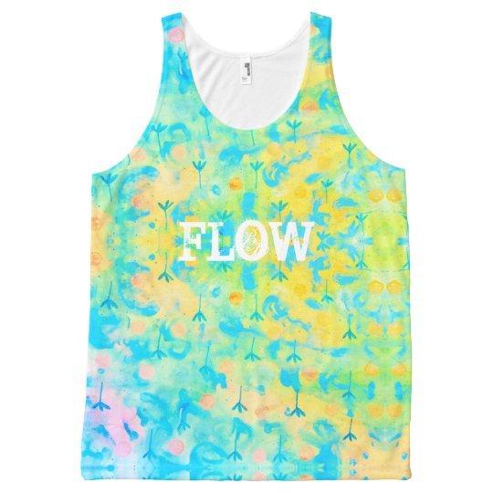 Flow flower All-Over print tank top