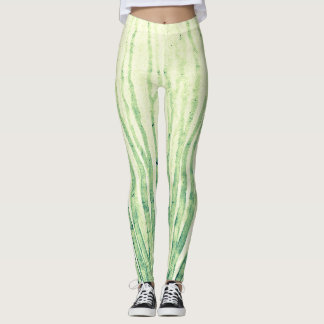 Flow green leggings
