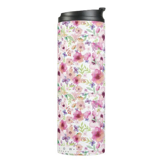 Flow - LONDON - Floral Travel Mug/Flask Thermal