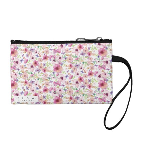 Flow - LONDON - Small Floral Clutch Bag