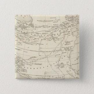 Flow of Air North Atlantic 15 Cm Square Badge