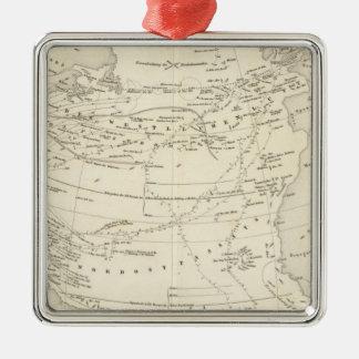 Flow of Air North Atlantic Christmas Ornament