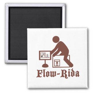 Flow Rida Square Magnet