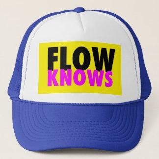 FLOW TRIBE FLOW KNOWS TRUCKER CAP