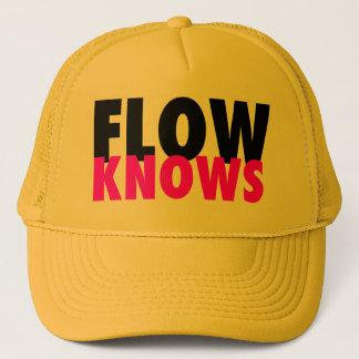 FLOW TRIBE FLOW KNOWS TRUCKER!!! CAP