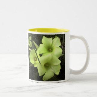 flower4 Two-Tone mug