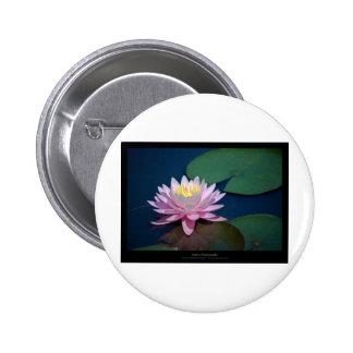 Flower 006 Water lily 6 Cm Round Badge