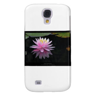 Flower 017 Pink Water Lily Galaxy S4 Case
