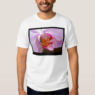 Flower 034 Pink orchid Tee Shirt