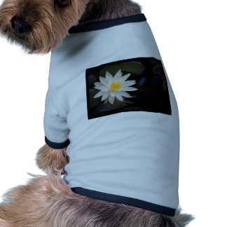 Flower 055 White Water Lily Doggie Shirt