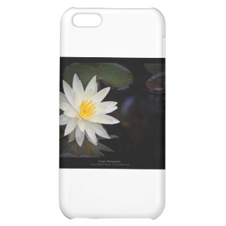 Flower 055 White Water Lily iPhone 5C Cover