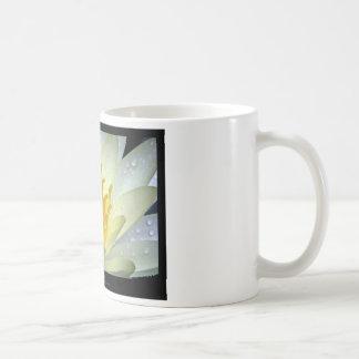 Flower 061 White Water Lily Basic White Mug