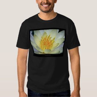 Flower 061 White Water Lily Tee Shirts