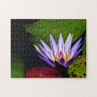 Flower 066 Waterlily Digital Art Jigsaw Puzzle