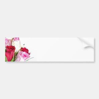 flower-316621 flower flowers rose love red pink ro bumper sticker