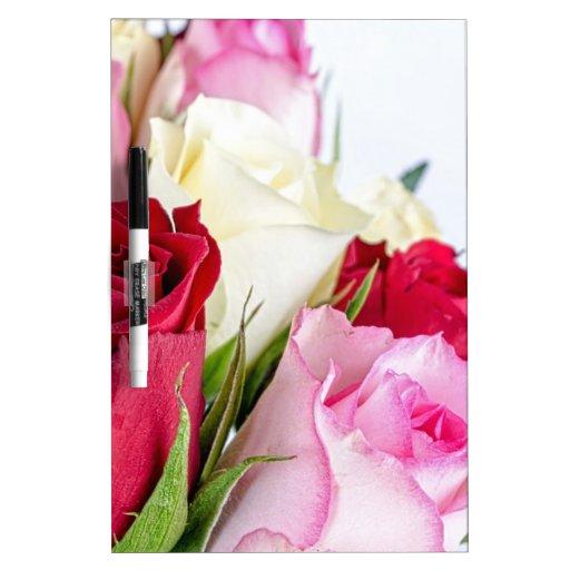 flower-316621 flower flowers rose love red pink ro Dry-Erase whiteboard