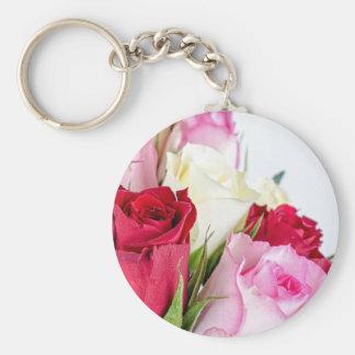 flower-316621 flower flowers rose love red pink ro keychain