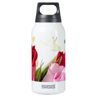 flower-316621 flower flowers rose love red pink ro 10 oz insulated SIGG thermos water bottle