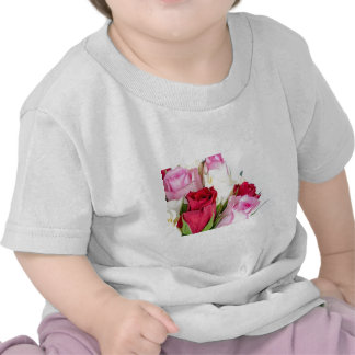 flower-316621 flower flowers rose love red pink ro t shirts