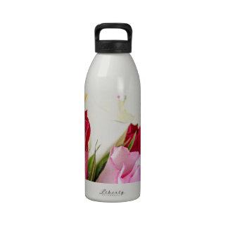 flower-316621 flower flowers rose love red pink ro reusable water bottle