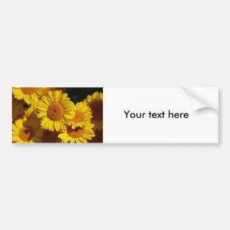 Flower  5 car bumper sticker