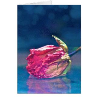Flower 62 greeting card