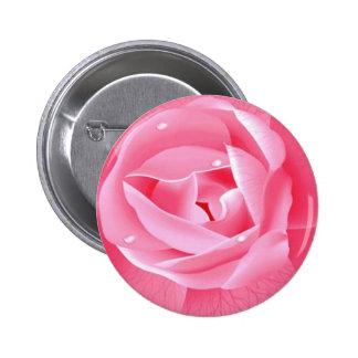 Flower 6 Cm Round Badge