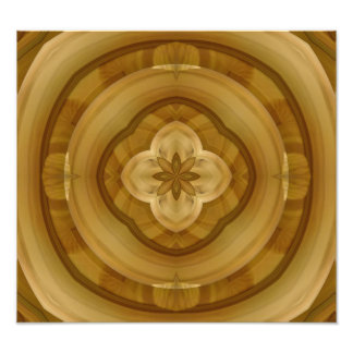 flower abstract circle wood pattern photo