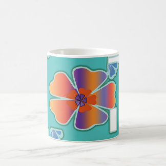 Flower Abstract  Mug