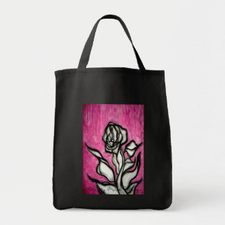 flower.ai, Marty Mack #1Love Grocery Tote Bag