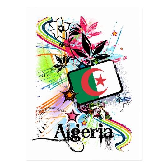 Flower Algeria Postcard