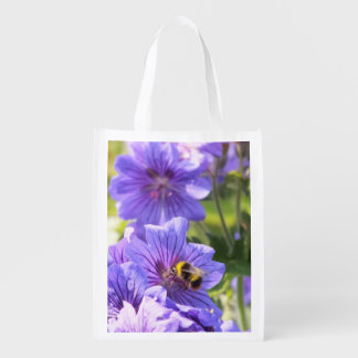 flower and bee bag