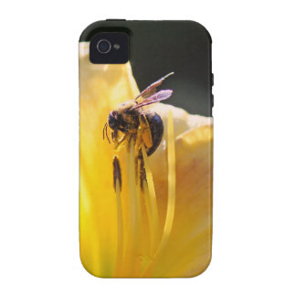 flower and bee mf iPhone 4/4S cover