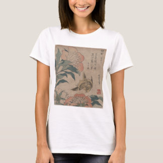 Flower and Bird Hokusai T-Shirt