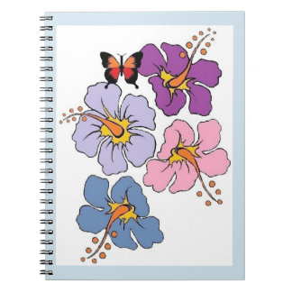 Flower And Butterfly Journal
