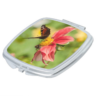 Flower and Butterfly mirror Makeup Mirrors