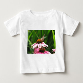 Flower and Butterfly Photo Shirt