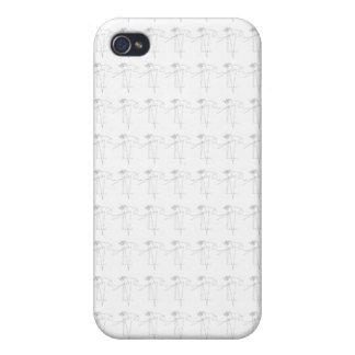 Flower and Dance Case For The iPhone 4