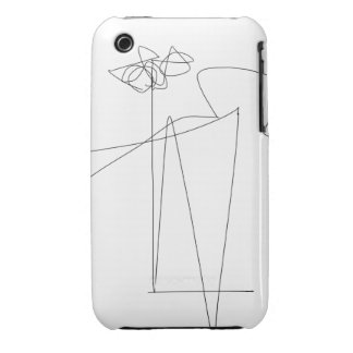 Flower and Dance iPhone 3 Case-Mate Case