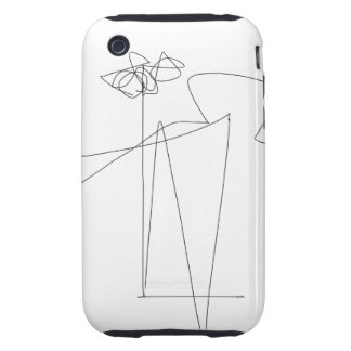 Flower and Dance iPhone 3 Tough Covers