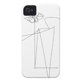 Flower and Dance iPhone 4 Case