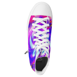 Flower and Fucsia♥ High Tops