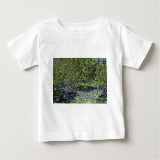 Flower and Nature Landscape Tee Shirt