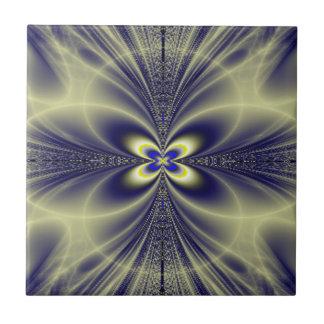 Flower and Swirls Fractal Tile