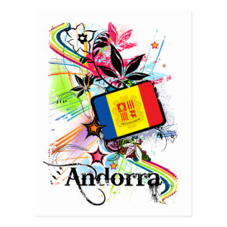 Flower Andorra Postcard